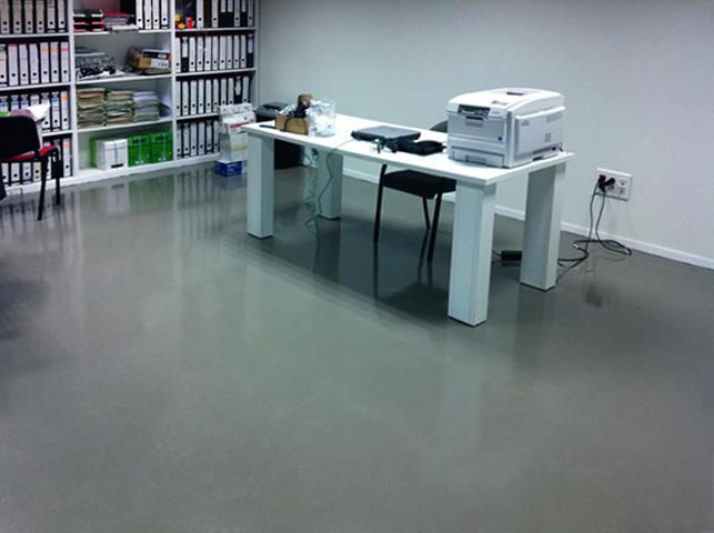 Pintura en oficinas y decoraci n - Pintura de suelo ...